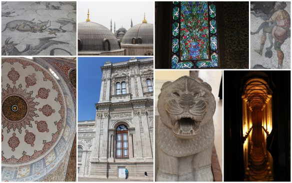Istanbul Palaces, Museums, Mosques