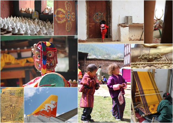 Beautiful Bhutan People and Culture