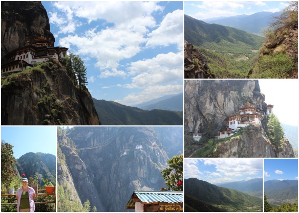 Paro Taktsang (Tiger's Nest) Monastery and some views from the climb